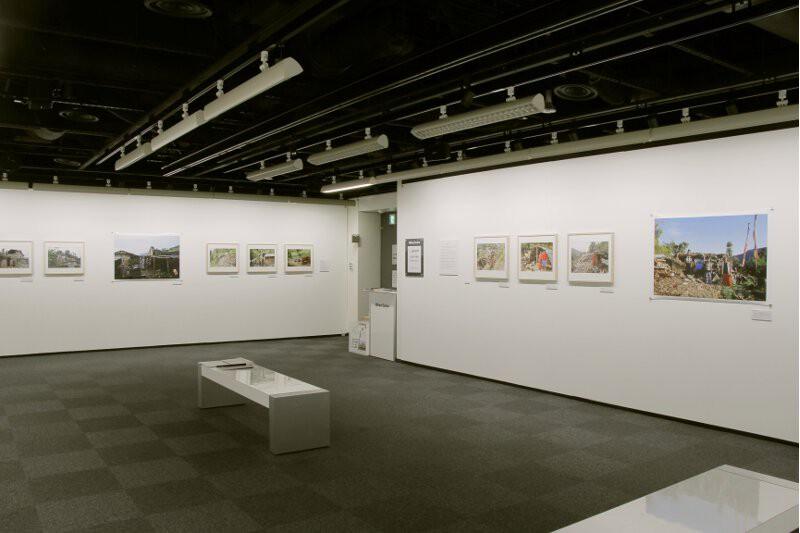 installation view at Nikon Salon Shinjyuku ,2016