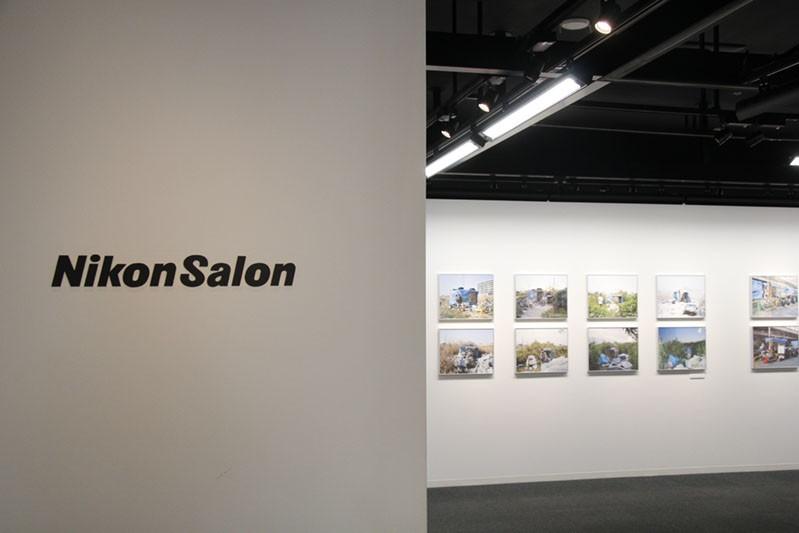 installation view at Nikon Salon Ginza ,2019